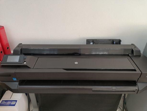 Ploter HP Designjet T520+komplet tuszy!