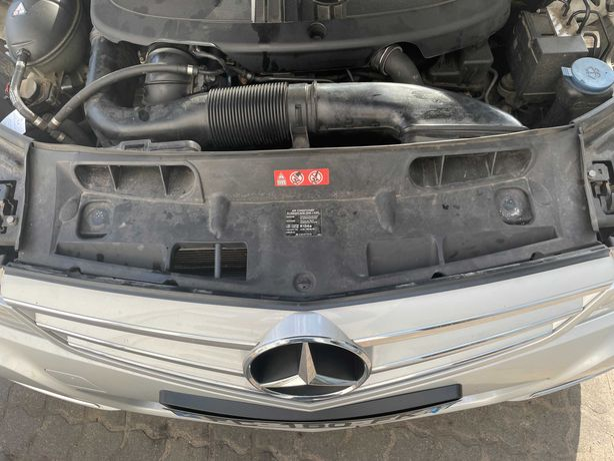 Mercedes C klasa W204 LIFT WLOT Powietrza rura plastikowa do pasa częś