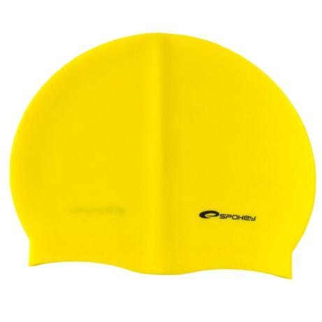 Czepek pływacki Spokey, kolory - zielony, żółty