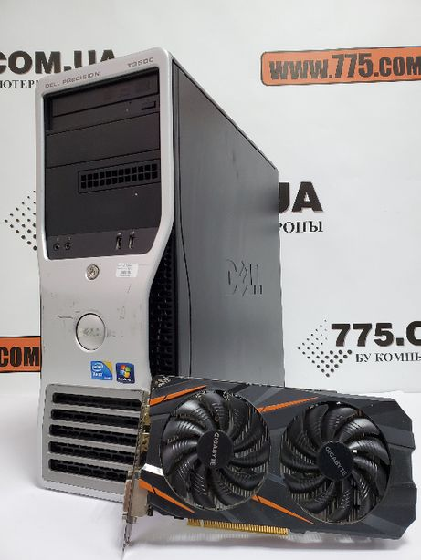 Игровой компьютер Intel 8 потоков, GTX 1060, 24GB DDR3, SSD+HDD