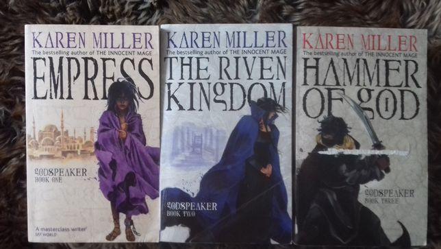 Karen Miller Empress, The Riven Kingdom, Hammer of God prezent święta