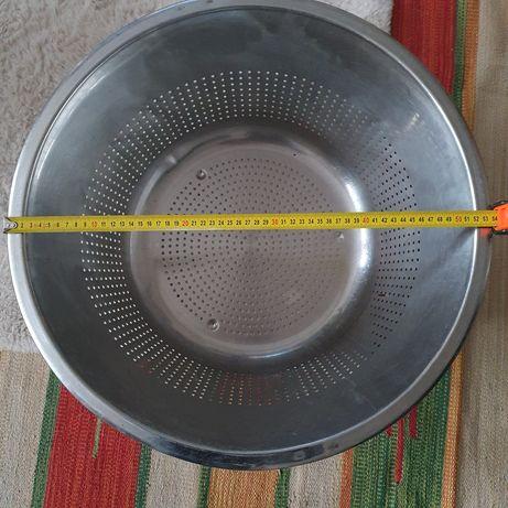 Wannna cedzakową ze stali nierdzewnej 50 cm