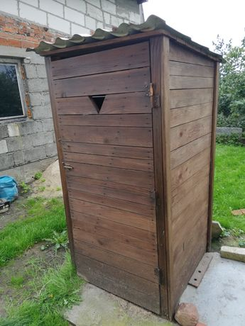Wychodek , toaleta , wc na budowę