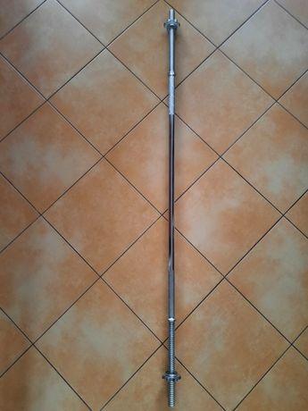 Gryf prosty 152cm , średnica 25 mm . Sztanga. Stan b.db.