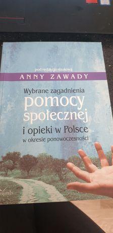 """A.Zawada """"Wybrane zagadnienia pomocy społecznej i opieki w Polsce w """""""