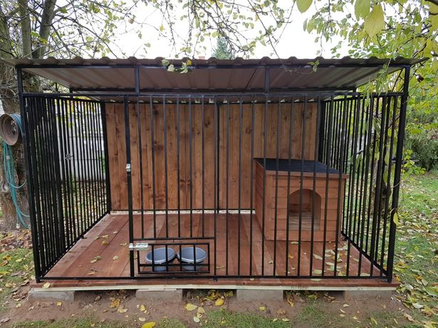 Kojec Klatka Zagroda Buda BOX dla psa 2mx2m Montaż Gratis Solidny.