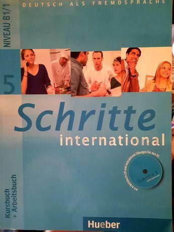 Matura niemiecki Schritte International 5 podręcznik +zeszyt maturalny