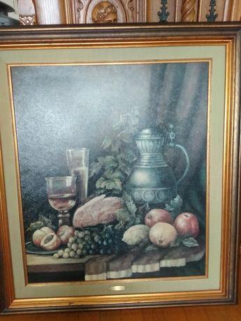 Obraz olejny  J.P.Speier