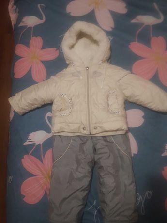 Комбінезон зимовий дитячий для дівчинки