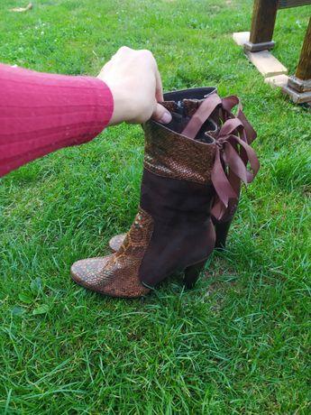 Ботинки, полусапожки, ботильйоны, в новом состоянии