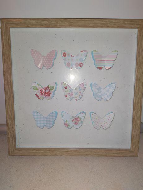 Obrazek z motylkami