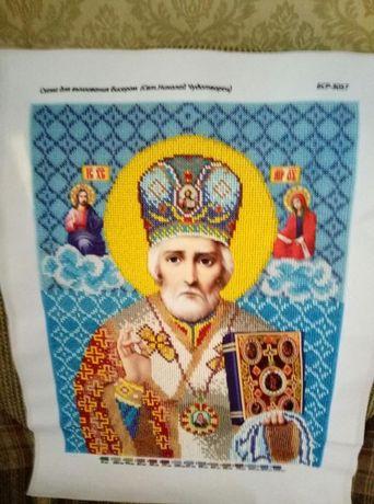 Продам икону Николая чудотворца.