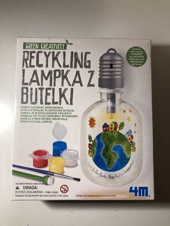 """Zestaw majsterkowicza green creativity """"lampka z butelki"""""""