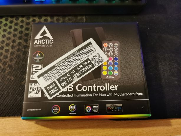 *DARMOWA WYSYŁKA* Arctic ARGB controller - adresable RGB