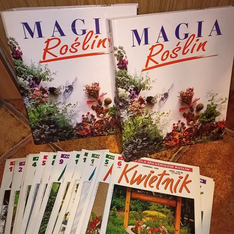 Magia roślin segregator plus czasopismo Kwietnik