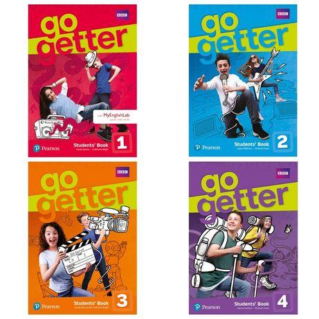 Друк книг Go Getter 1,2,3,4