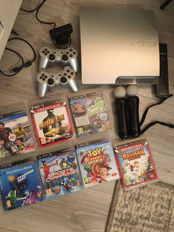 Konsola Sony Playstation PS3 Slim zestaw