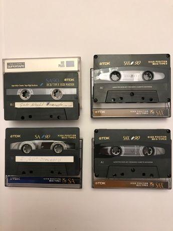 Аудиокассеты TDK, SONY, BASF, AKAI 90 min chrome