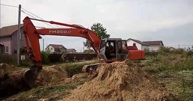 Aluguer de Maquinas, Desaterros, Escavações, Terraplanagens.