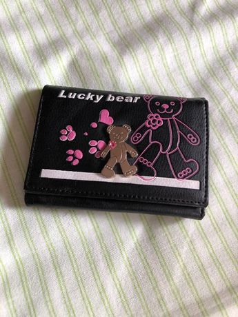 Carteira Lucy bear nova