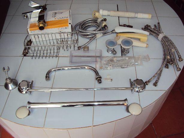 Material para construção picheleiro vários tipos de assessórios