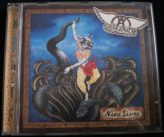 AEROSMITH Nine Lives CD Sony Music