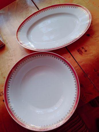 Półmiski porcelana