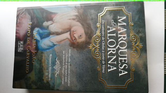 """Livro """"Marquesa de Alorna"""" de Maria João Lopo de Carvalho"""