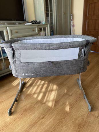 Kinderkraft Uno łóżeczko dostawne szare