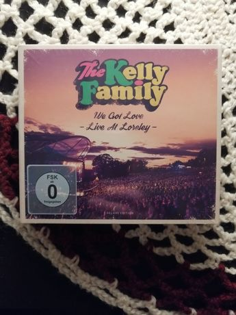 NAJTANIEJ The Kelly Family We Got Love-Live At Loreley -DELUXE EDITION