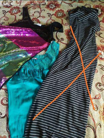 Женская одежда пиджак платье майка сарафан