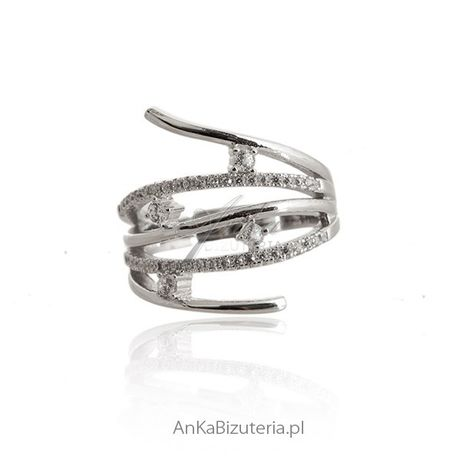 ankabizuteria.pl biżuteria srebrna toruń Srebrna bransoletka z nieskoń