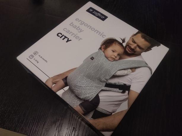 ZAFFIRO nosidełko ergonomiczne CITY dla dzieci