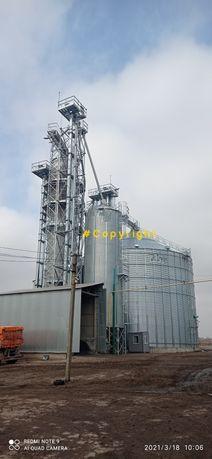 Нория зерновая элеватор ЗАВ, ремонт и модернизация