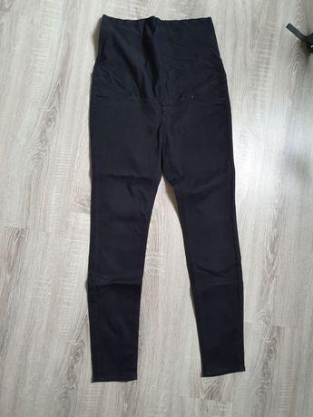 Czarne spodnie ciążowe H&M mama M 38