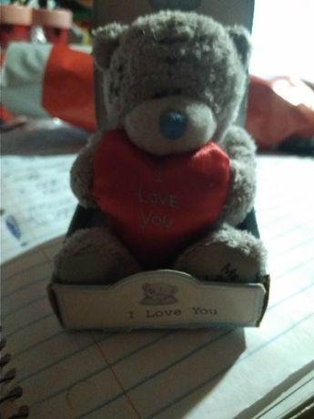 игрушка мягкая тедди teddi британия с сердечком новый маленький мишка