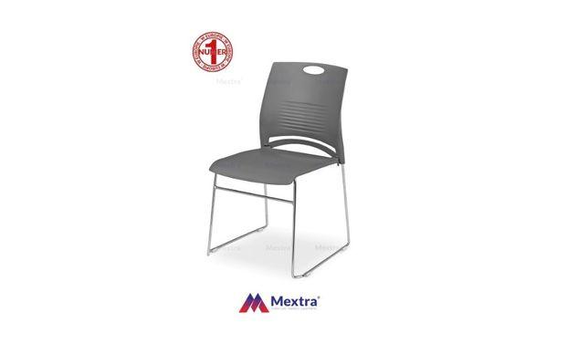 WEST krzesło krzesła na płozie, na płozach, plastikowe