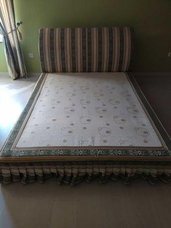Łóżko podwójne małżeńskie 160 X 220 + materac