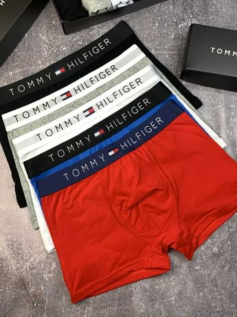 Трусы мужские Tommy Hilfiger боксеры нижнее белье Томми хлопок
