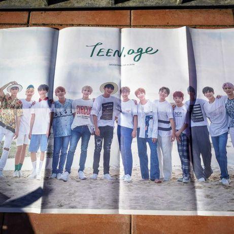Poster Seventeen Kpop Oficial