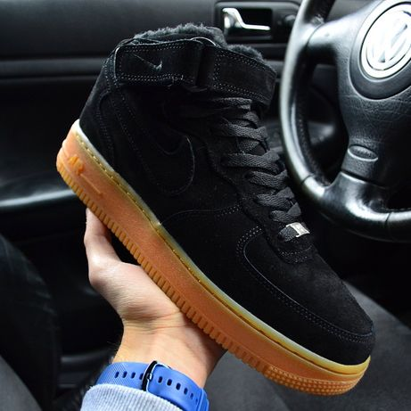 """Кроссовки Nike Air Force 1 High WNTR """"Black"""""""
