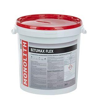 Izolacja bitumiczna BITUMAX FLEX 30l izolacja fundamentów, stropów