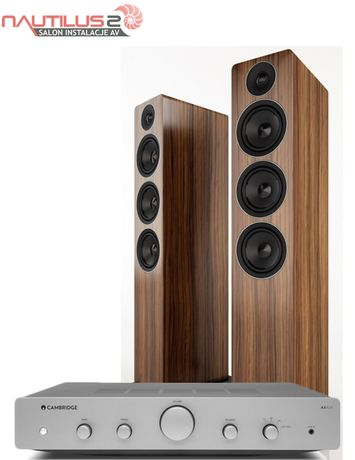 Cambridge Audio AXA25 + Acoustic Energy AE120 zestaw stereo wzmacniacz