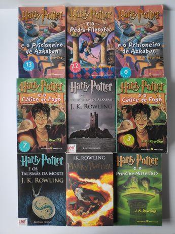 HARRY POTTER - grande variedade de livros