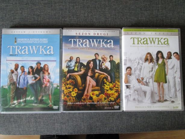Serial TRAWKA na DVD - kompletne 3 sezony! Stan bardzo dobry!