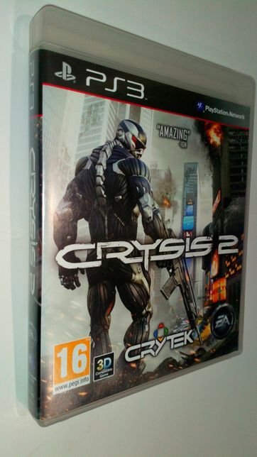 Gra PS3 CRYSIS 2 II gry PlayStation 3 FARCRY batelfield