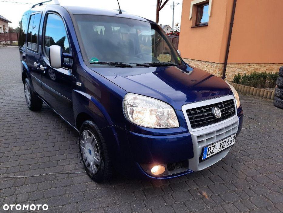 Fiat Doblo 2009r 1,9jtd 120km Malibu Klima Import Niemcy Oplacony Покровка - изображение 1