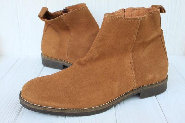 Новые ботинки Zign замша Германия 43р