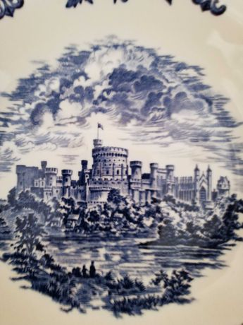 Тарелка глубокая Enoch Wedgwood London Windsor Castle England Англия