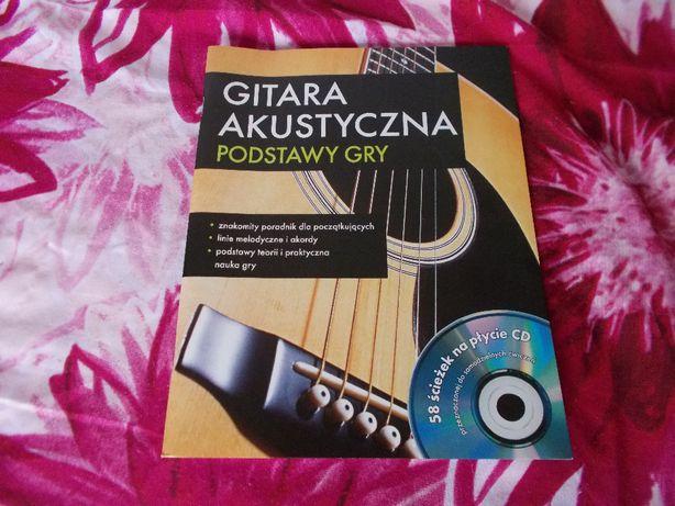 Gitara akustyczna - podstawy gry książka z CD